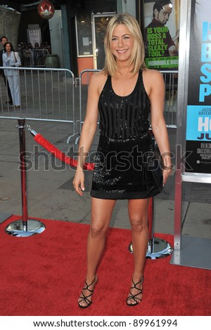 "Jennifer Aniston at the Los Angeles premiere of her new movie ""Horrible Bosses"" at Grauman's Chinese Theatre, Hollywood. June 30, 2011  Los Angeles, CA Picture: Paul Smith / Featureflash - stock photo"