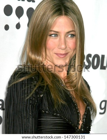 Jennifer Aniston at the 18th ANNUAL GLAAD Media Awards Kodak Theatre Los Angeles, CA April 14, 2007 - stock photo