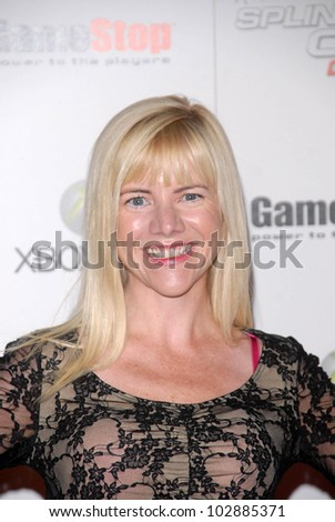 "Jennifer Elise Cox at the Game Stop and XBOX 360 Premiere of ""Splinter Cell Conviction,"" Les Deux, Hollywood, CA. 04-01-10"