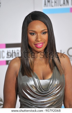 Jennifer Hudson arriving at the 2011 American Music Awards at the Nokia Theatre, L.A. Live in downtown Los Angeles. November 20, 2011  Los Angeles, CA Picture: Paul Smith / Featureflash