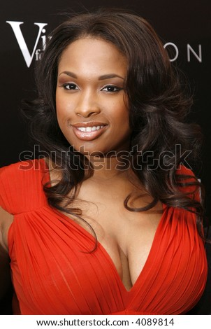 Jennifer Hudson attends a reception following the Global Summit For A Better Tomorrow at the United Nations on March 7, 2007 in New York City. - stock photo