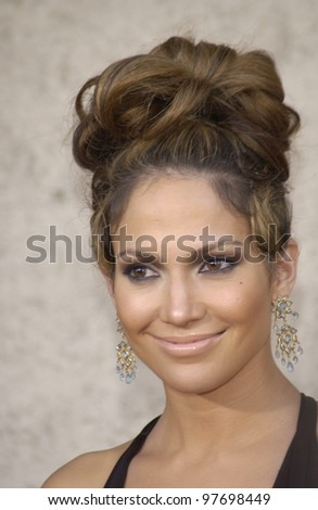 JENNIFER LOPEZ at the Los Angeles premiere of her new movie Gigli. July 27, 2003  Paul Smith / Featureflash - stock photo