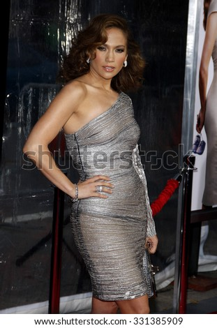 """Jennifer Lopez at the Los Angeles premiere of """"The Back-Up Plan"""" held at the Westwood Village Theater in Hollywood, USA on April 21, 2010. - stock photo"""