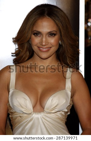 Jennifer Lopez at the Los Angeles premiere of 'The Curious Case Of Benjamin Button' held at the Mann's Village Theater  in Westwood on December 8, 2008. - stock photo
