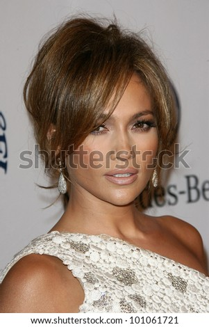 Jennifer Lopez at the 32nd Anniversary Carousel Of Hope Ball, Beverly Hilton Hotel, Beverly Hills, CA. 10-23-10 - stock photo