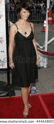 Jennifer Love Hewitt at the World premiere of 'The Break-Up' held at the Mann Village Theatre in Westwood,  USA on May 22, 2006. - stock photo