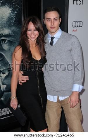 "Jennifer Love Hewitt, Jarod Einsohn at the AFI Fest 2011 Opening Night Gala Premiere of ""J. Edgar,"" Chinese Theater, Hollywood, CA 11-03-11"