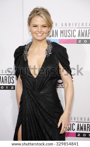 Jennifer Morrison at the 2012 American Music Awards held at the Nokia Theatre L.A. Live in Los Angeles, USA on November 18, 2012.