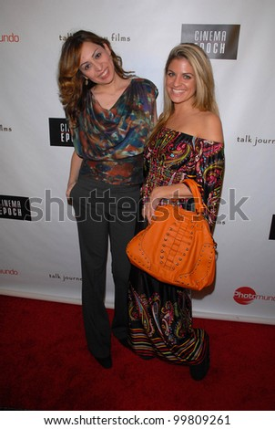 "Jenny Leeser and Bridgetta Tomarchio  at the premiere of Cinema Epoch's ""Violent Blue,"" Culver Plaza Theaters, Culver City, CA. 01-07-11"
