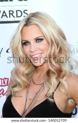 Jenny McCarthy at the 2013 Billboard Music Awards Arrivals, MGM Grand, Las Vegas, NV 05-19-13 - stock photo