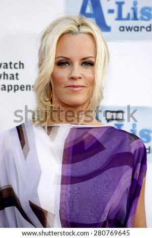 Jenny McCarthy at the 2009 Bravo's A-List Awards held at the Orpheum Theatre in Los Angeles on April 5, 2009.