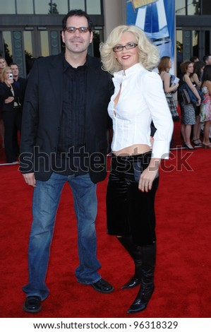 JENNY McCARTHY & boyfriend BILL RADEMAKER at the 2005 American Music Awards in Los Angeles. November 22, 2005; Los Angeles, CA:    Paul Smith / Featureflash