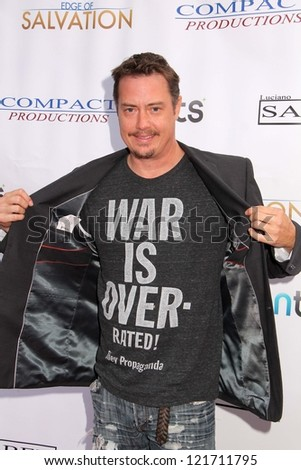 "Jeremy London at the ""Edge of Salvation"" Premiere, Arclight, Hollywood, CA 12-06-12"