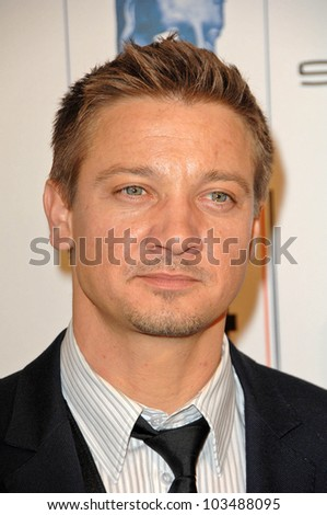 Jeremy Renner at BAFTA/LA's 16th Annual Awards Season Tea Party, Beverly Hills Hotel, Beverly Hills, CA. 01-16-10