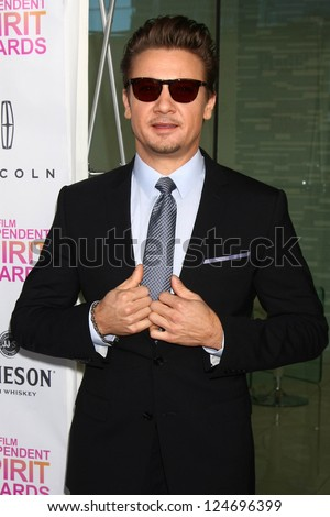 Jeremy Renner at the 2013 Film Independent Filmmaker Grant And Spirit Award Nominees Brunch, BOA, West Hollywod, CA 01-12-13