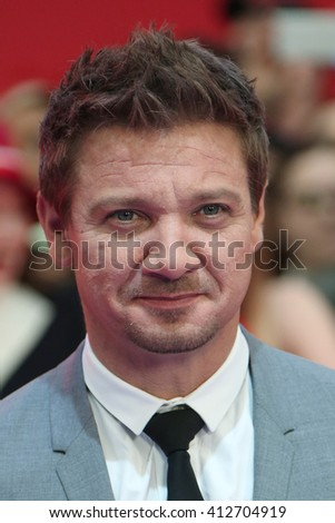 Jeremy Renner attends the European film premiere of 'Captain America: Civil War' at Vue Westfield on April 26, 2016 in London, England