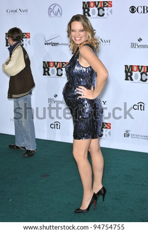 Jeri Ryan at Movies Rock: A Celebration of Music in Film at the Kodak Theatre, Hollywood. December 2, 2007  Los Angeles, CA Picture: Paul Smith / Featureflash