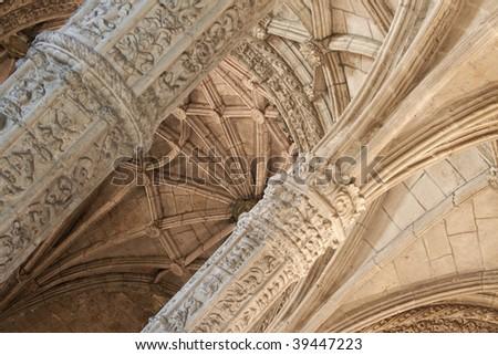Jeronimos Monastery, Lisbon, Portugal - stock photo