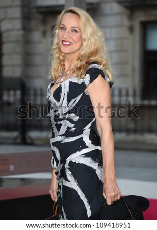 Jerry Hall arriving for the Royal Academy of Arts Summer Exhibition Party, at the Royal Academy of Arts, London. 30/05/2012 Picture by: Alexandra Glen / Featureflash