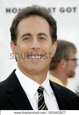 Jerry Seinfeld at Los Angeles Premiere of BEE MOVIE, Mann's Village Theatre, Los Angeles, CA, October 28, 2007