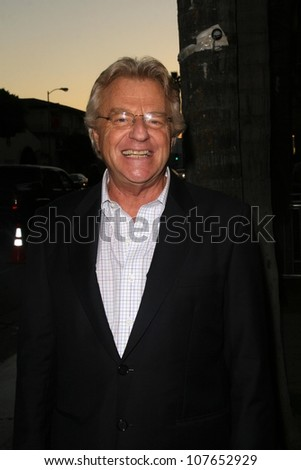 Jerry Springer  At NBC's Fall Premiere Party. Boulevard 3, Hollywood, CA. 09-18-08