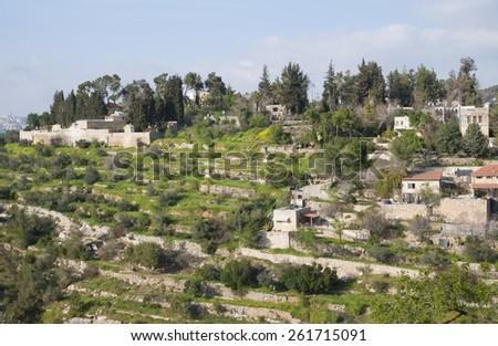 Jerusalem En Kerem - stock photo
