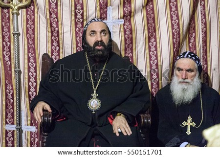 Image result for free photo syriac orthodox patriarch at Church of the Holy Sepulchre