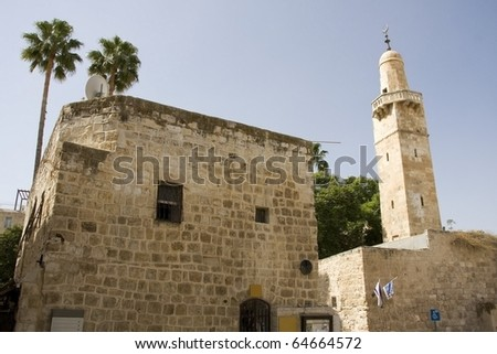 Jerusalem;  Old City - stock photo
