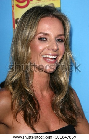 "Jessalyn Gilsig at the ""GLEE"" Season 2 Premiere Screening and DVD Release Party, Paramount Studios, Hollywood, CA. 08-07-10"