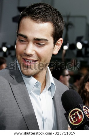 Jesse Metcalfe at the Los Angeles premiere of 'John Tucker Must Die' held at the Grauman's Chinese Theater in Hollywood, USA on July 25, 2006.