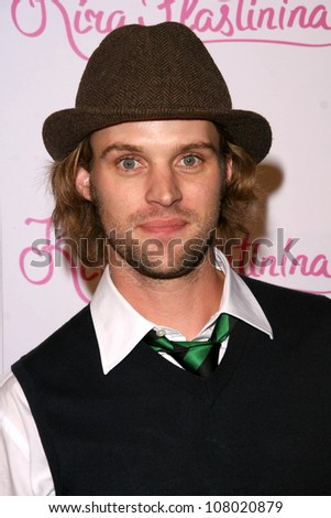 Jesse Spencer  at the US Launch Party for Kira Plastinina. 400 La Brea Avenue, Los Angeles, CA. 06-14-08