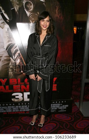 Jessica Alba  at the Los Angeles Special Screening of 'My Bloody Valentine 3D'. Mann's Chinese Six, Hollywood, CA. 01-08-09