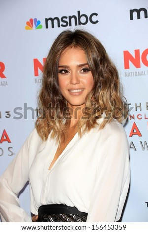 Jessica Alba at the 2013 NCLR ALMA Awards Press Room, Pasadena Civic Auditorium, Pasadena, CA 09-27-13 - stock photo
