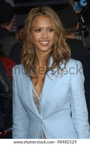 JESSICA ALBA at the 31st Annual American Music Awards in Los Angeles. November 16, 2003  Paul Smith / Featureflash - stock photo