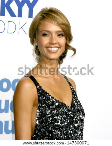 "Jessica Alba  ""Good Luck Chuck"" Los Angeles Premiere Mann's Village Theater Westwood,  CA September 18, 2007 - stock photo"