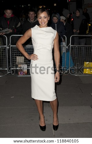 Jessica Ennis arriving for the Cosmopolitan Ultimate Women of the Year Awards , Victoria & Albert Museum, London. 30/10/2012 Picture by: Simon Burchell - stock photo