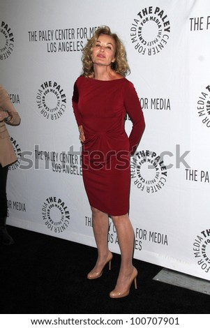 "Jessica Lange at ""American Horror Story"" at PaleyFest 2012, Saban Theater, Beverly Hills, CA 03-02-12"