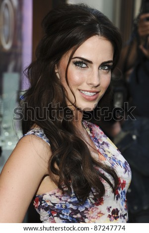 Jessica Lowndes arrives for the 'Pixie Lott for Lipsy' party at Swarovski, London. 21/04/2011  Picture by: Steve Vas / Featureflash