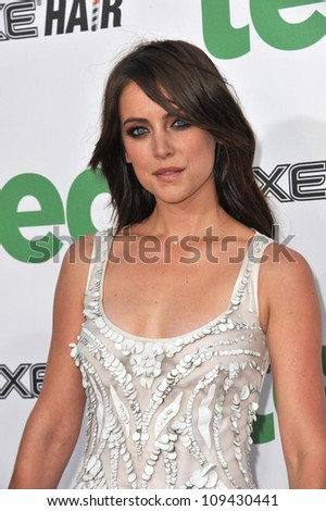 "Jessica Stroup at the world premiere of her movie ""Ted"" at Grauman's Chinese Theatre, Hollywood. June 22, 2012  Los Angeles, CA Picture: Paul Smith / Featureflash"