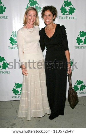 "Jessica Tuck and Amy Brenneman at ""An Evening Under the Harvest Moon"" TreePeople's Annual Gala Fundraiser. Warner Bros. Studios, Burbank, CA. 10-13-07"