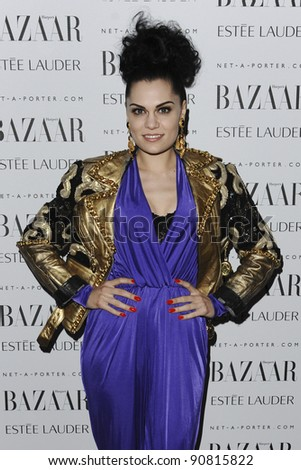Jessie J arriving for the Harpers Bazaar Women of the Year Awards 2011 at Claridges, London. 07/11/2011 Picture by: Steve Vas / Featureflash - stock photo