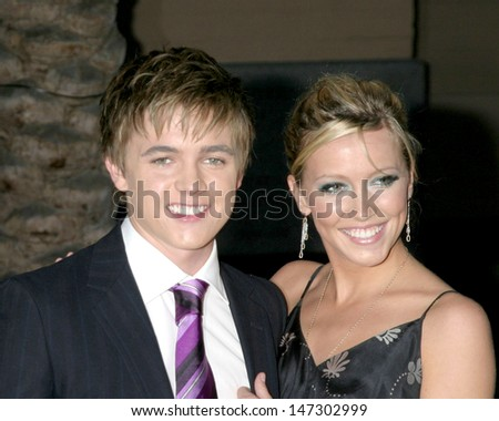 Jessie McCartney & Katie Cassidy American Music Awards 2006 The Shrine Auditorium Los Angeles, CA November 21, 2006 - stock photo