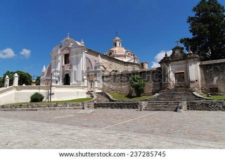 Jesuit Church and Estancia in Alta Gracia, Argentina - stock photo