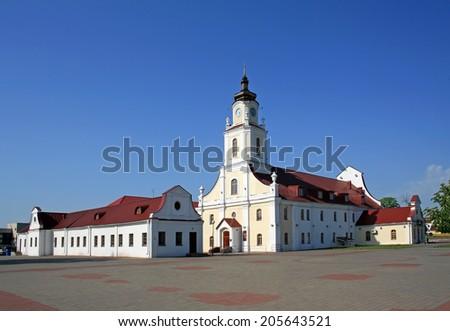 Jesuit Collegium building in Orsha - stock photo
