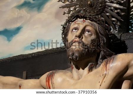 Jesus Christ Cross - stock photo