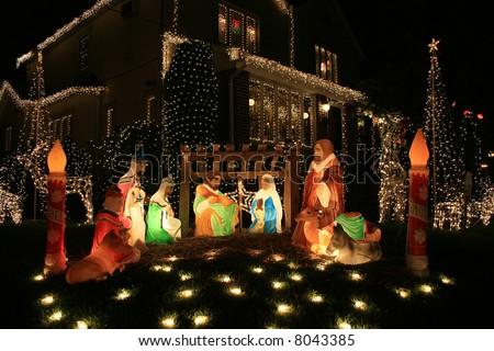 Christmas decoration jesus ideas christmas decorating for Home decor 80121