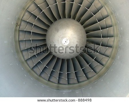 Jet engine intake #1