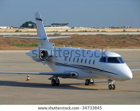 Jet Plane - stock photo
