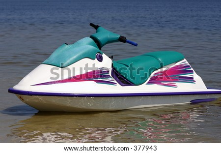 Jet Ski - stock photo