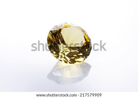 Jewel on white background - stock photo